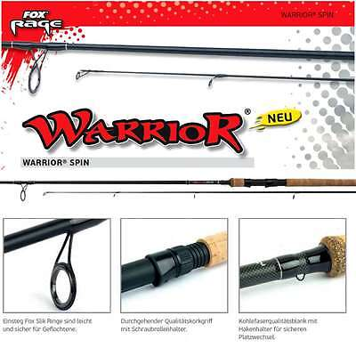 Fox RAGE WARRIOR Spin 2,70m Fox Wg: 15-50g              NRD 164