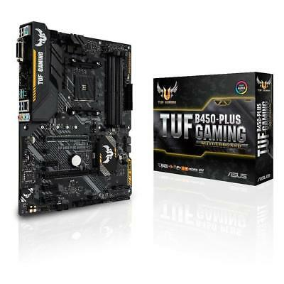 Asus TUF AMD B450 PLUS GAMING Socket AM4 ATX Gaming Motherboard 4xDDR4 Crossfire
