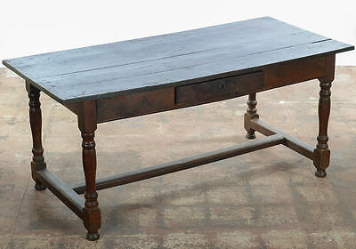 18th c. antique English Farmhouse Writing Table - Late 1700's