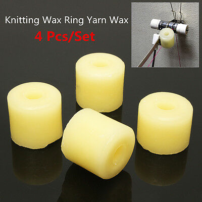 4 Pics Sets Knitting Textile Yarn Wax Ring For Machine Brother/SilverReed/Singer