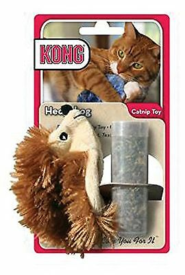 Kong Catnip animal toy refillable cat kitten play One size Brown/Beige
