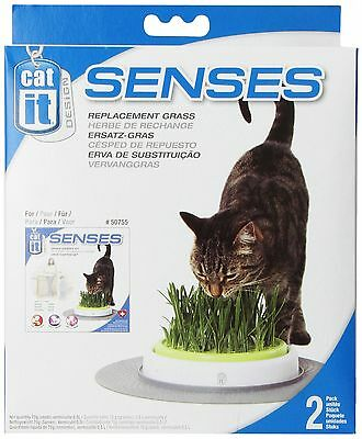 Catit Senses Grass Garden Refill Pack Pack of 2