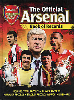The Official Arsenal FC Book of Records - Gunners Gooners Football book
