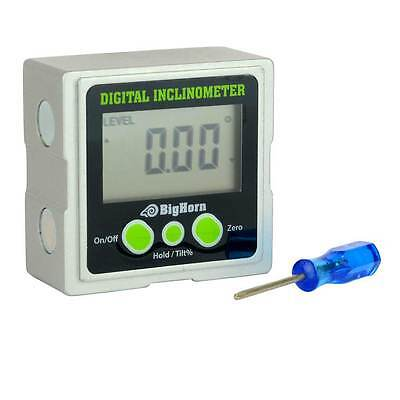 Angle Finder Cube Digital Magnetic Protractor Gauge Inclinometer - 14220