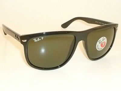 e985acd926 New RAY BAN Sunglasses Black Frame RB 4147 601 58 Polarized Green Lenses  60mm