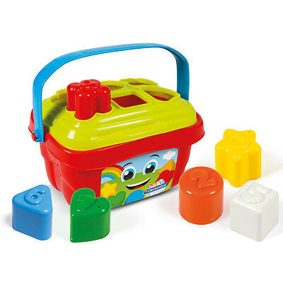 Clementoni Shape Sorter Bucket NEW