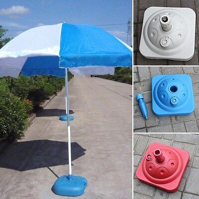 Newly Parasol Base Beach Sunshade Umbrella Ground Stand Water/Sand Filled Holder