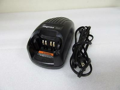 Motorola Impres WPLN4114AR XTS Series Single Adaptive Charger Base w/ Power Cord