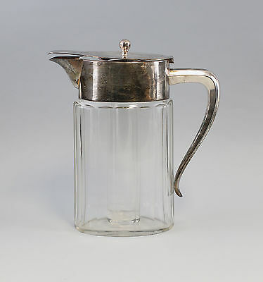 Cold Duck with silver plated Mounting WMF um 1910 Crystal carafe 99830043