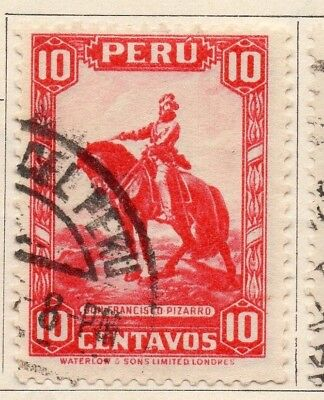 Peru 1934-35 Early Issue Fine Used 10c. 148160