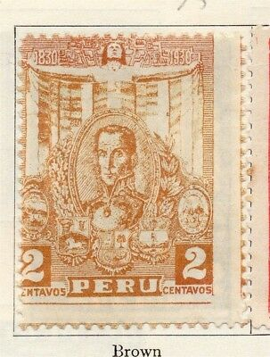 Peru 1930 Early Issue Fine Mint Hinged 2c. 148166