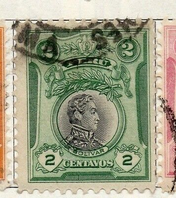 Peru 1918 Early Issue Fine Used 2c. 148232