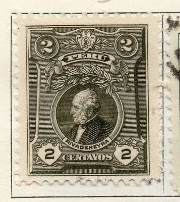 Peru 1924 Early Issue Fine Mint Hinged 2c. 148241
