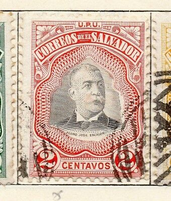 Salvador 1906 Early Issue Fine Used 2c. 148264