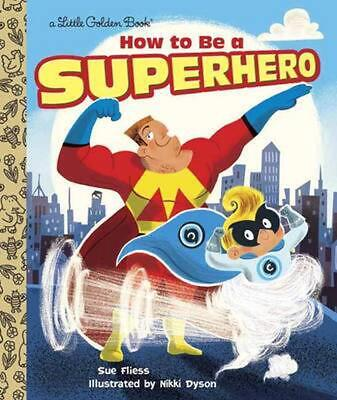How to Be a Superhero by Sue Fliess (English) Hardcover Book Free Shipping!