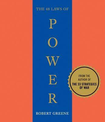 The 48 Laws of Power by Robert Greene (English) Compact Disc Book Free Shipping!