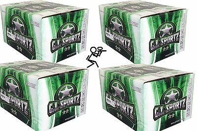 G.I. Sportz ** 2 STAR 8.000 Paintballs Cal .68 Airsoft Paintball PaintNoMore
