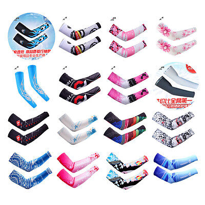 Outdoor New Cycling Arm Warmers Sleeves Cover Bike Bicycle Sun Protection Cuff