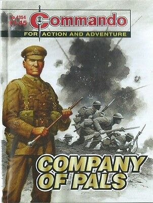 Company Of Pals,commando For Action And Adventure,no.4354,war Comic,2010