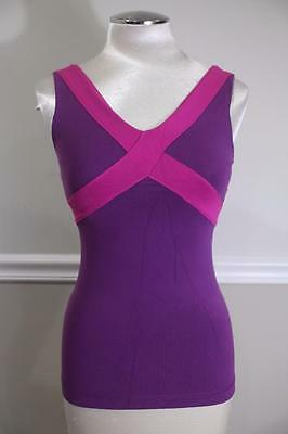Lululemon Athletica Women's Purple/Magenta Yoga Tank Top Size 4 (lu100