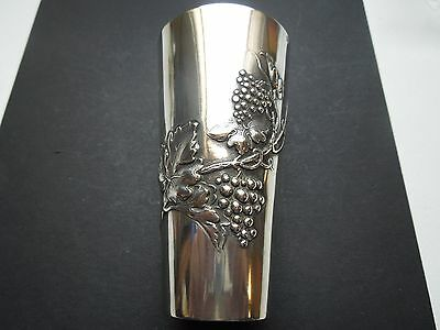 N396  Art  Nouveau  Silver Vase By  Foehr  See Descrip