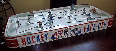 Eagle Face Off  Hockey game  1960's table top hockey game