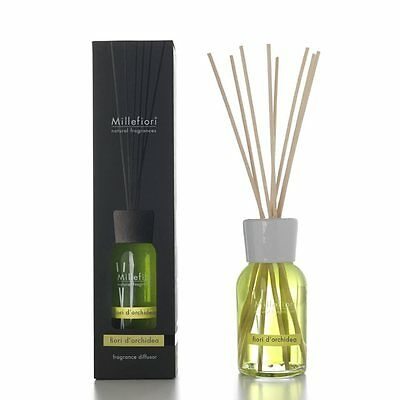 MILLEFIORI Natural Raumduft Diffuser 250 ml FIORI DI ORCHIDEA