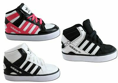 New Adidas Originals Hardcourt Block Infant Kids Sneakers