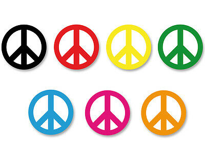 Lot Pack Badge Button Ø38mm Peace And Love Paix Amour Frieden Paz Colorful
