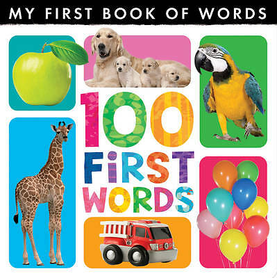 My First Book of Words: 100 First Words, 1848956312, New Book