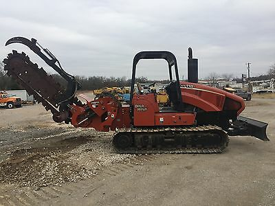 07 Ditch Witch HT115H Trencher  Very Good Condition