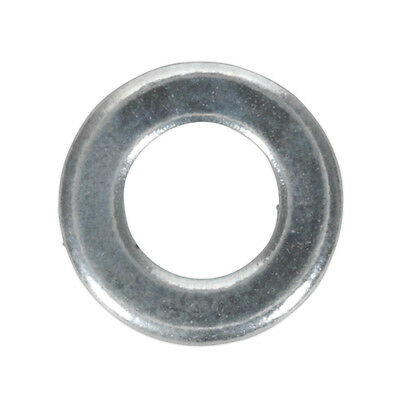 Genuine SEALEY FWA510 | Flat Washer M5 x 10mm Form A Zinc DIN 125 Pack of 100