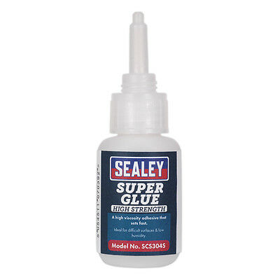 Genuine SEALEY SCS302S | Super Glue Fast Setting 20g