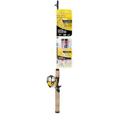 Shakespeare CMFYOUTHSC Catch More Fish Youth 5' Spincast Rod & Reel Combo Kit