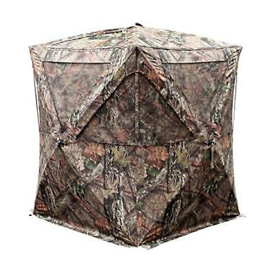 Primos 65106 The Club Ground Blind Dura Matte Fabric Mossy Oak Camo