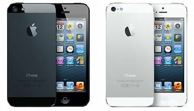 Apple iPhone 5 A1429 16/32GB Mobile Smartphone Black/White Unlocked/EE/O2