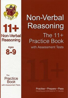11+ Non-Verbal Reasoning Practice Book with Assessment Tests Ages 8-9 (GL & Oth.