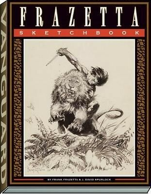 The Frazetta Sketchbook by A01 Paperback Book (English)