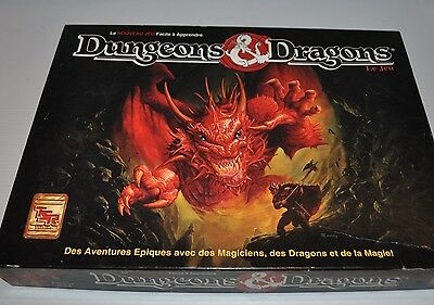 DUNGEONS & DRAGONS Jeu  French RPG BOARD GAME Complete 1991 TSR