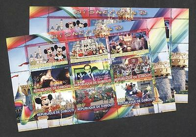 (939084) 2x Disney, Cartoon, Small lot, Private / local issue