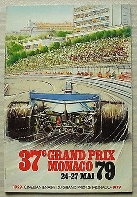 MONACO GRAND PRIX FORMULA ONE F1 1979 Official Race Programme