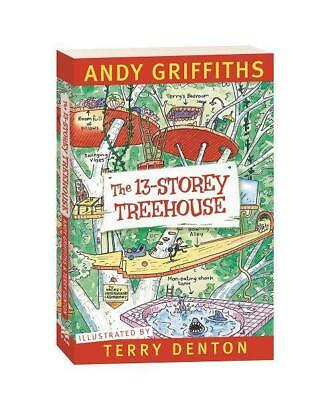 NEW The 13-Storey Treehouse By Andy Griffiths Paperback Free Shipping