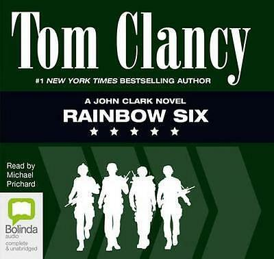 NEW Rainbow Six By Tom Clancy Audio CD Free Shipping