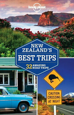 NEW New Zealand's Best Trips By Lonely Planet Travel Guide Paperback