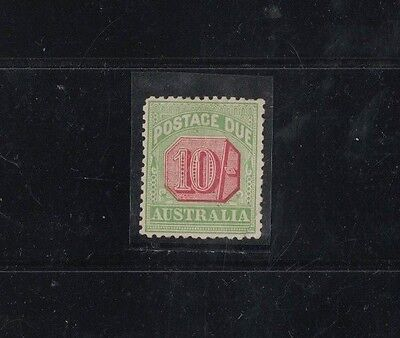 1909 Australia Postage Due Issue 10 Shilling SG 72 mint