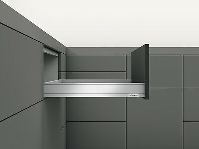 Blum LEGRABOX pure Schubkasten TIP-ON BLUMOTION Höhe N 66,5 mm
