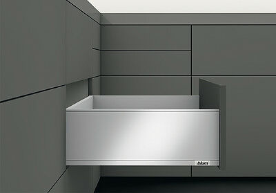 Blum LEGRABOX pure Frontauszug TIP-ON BLUMOTION Höhe C 177 mm