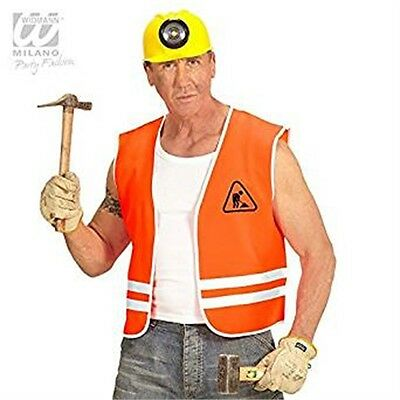 XL Orange Constructor High Visability Vest - Mens Top Builder Bob Manny Fancy