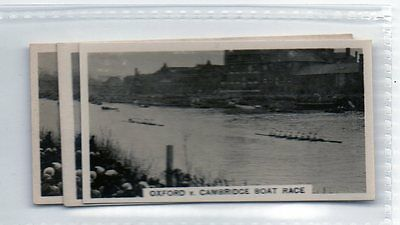 #40 oxford v cambridge boat race -  1932 Cig card