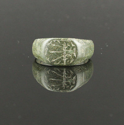 Ancient Medieval Bronze Ring - Circa 13Th Century Ad  03